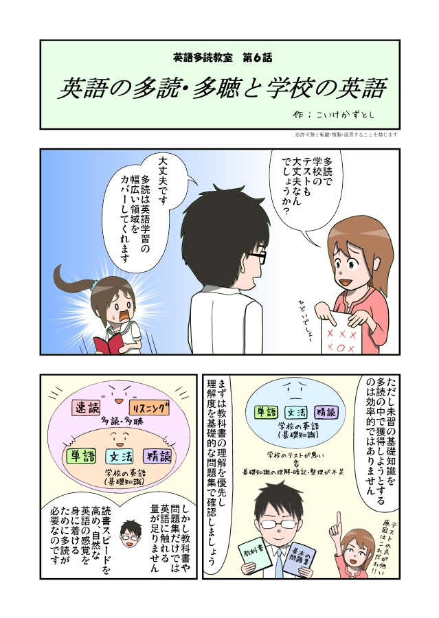 漫画英語多読教室
